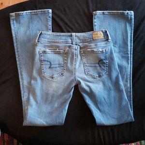 American eagle kickboot jeans
